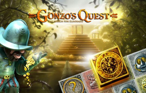 Gonzos Quest, Gonzos Quest casino, Freespins, Casino, slot, videoslot, netent