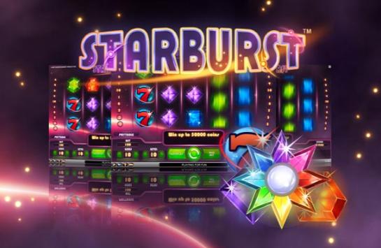 Freespins, Starburst, Casino, slot, videoslot, netent